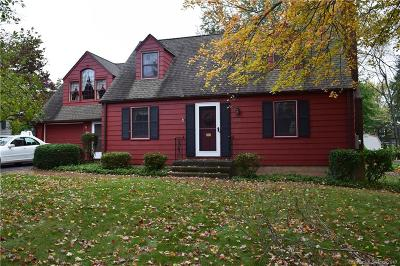 Wethersfield Single Family Home For Sale: 461 Church Street
