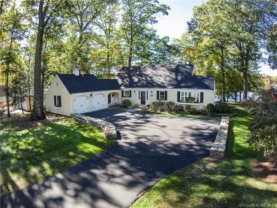 West Hartford Single Family Home For Sale: 81 Waterside Lane