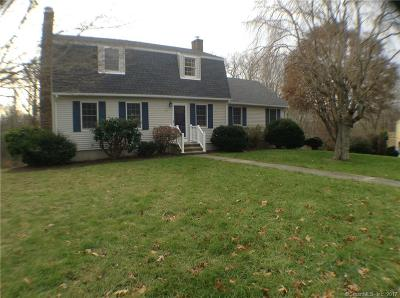 Stonington Single Family Home For Sale: 89 Castle Hill Road