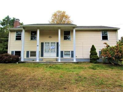 Suffield Single Family Home For Sale: 355 East Street North