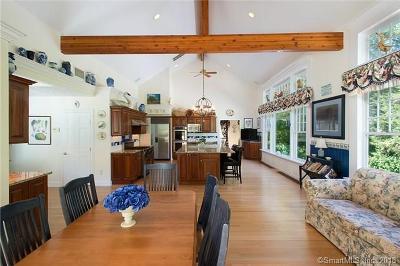 Redding Single Family Home For Sale: 110 Sport Hill Road