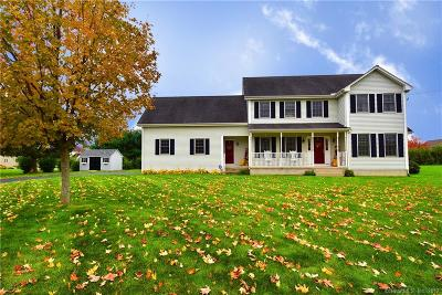 South Windsor Single Family Home For Sale: 451 Deming Street