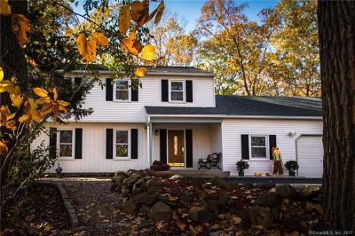 Wallingford Single Family Home For Sale: 111 West Dayton Hill Road
