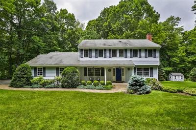 Wilton Single Family Home For Sale: 23 Old Wagon Road