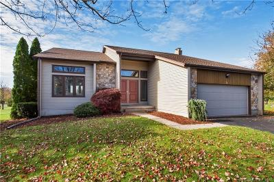 South Windsor Single Family Home For Sale: 84 Pheasant Way