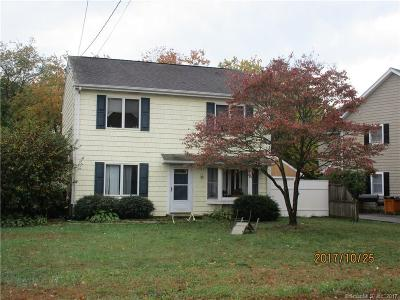 Stamford Single Family Home For Sale: 130 Crystal Lake Road
