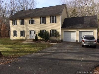 Ledyard Single Family Home For Sale: 38 Avery Hill Road Extension