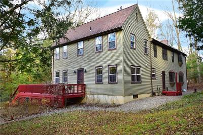 Tolland County, Windham County Single Family Home For Sale: 162 James Road