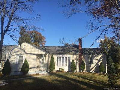 Wethersfield Single Family Home For Sale: 54 Woodside Drive