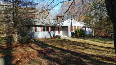 Wilton Single Family Home For Sale: 81 Coley Road
