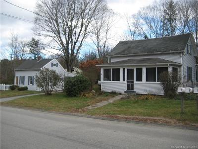 Tolland County, Windham County Single Family Home For Sale: 179 Harrisville Road