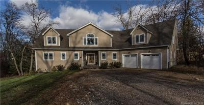Tolland County, Windham County Single Family Home For Sale: 218 Lake Road