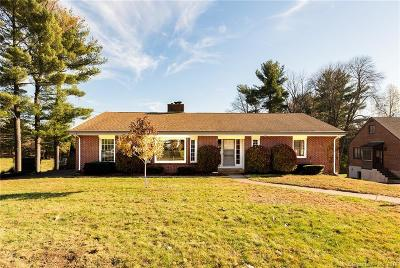 West Hartford Single Family Home For Sale: 2 Coolidge Road