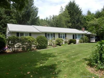 Southbury Single Family Home For Sale: 315 Old Waterbury Road