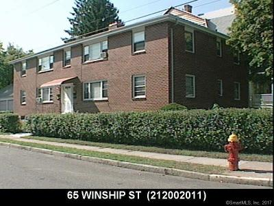 Hartford Multi Family Home For Sale: 65 Winship Street