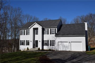 Cheshire Single Family Home For Sale: 1065 Summit Road