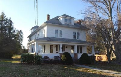 Wethersfield Single Family Home For Sale: 295 Wolcott Hill Road