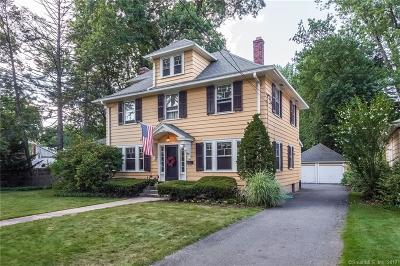 West Hartford Single Family Home For Sale: 272 Fern Street