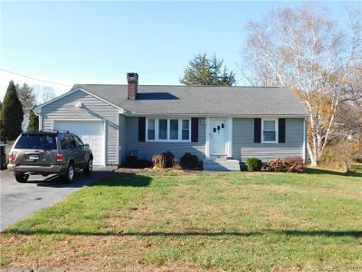 Berlin CT Single Family Home For Sale: $219,000