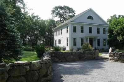Stonington CT Single Family Home For Sale: $1,100,000