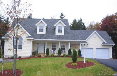 Coventry Single Family Home For Sale: 363 Riley Mountain Road