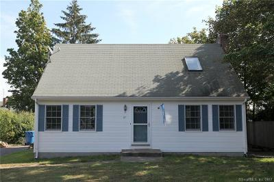 Berlin CT Single Family Home For Sale: $219,900