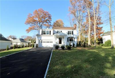 Stamford Single Family Home For Sale: 41 Sagamore Road