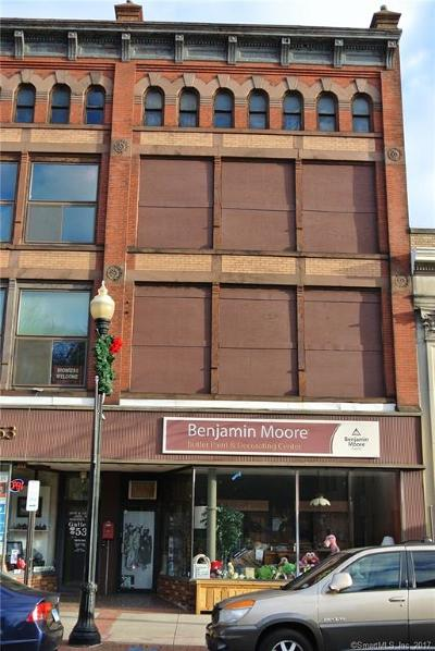 Meriden Commercial For Sale: 51 Colony Street