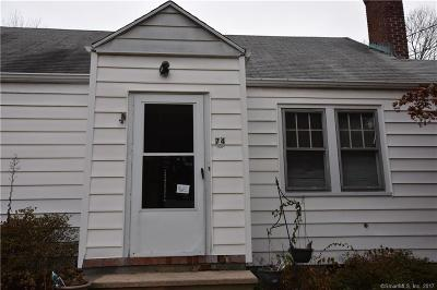 Norwalk Single Family Home For Sale: 74 Silvermine Avenue
