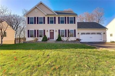 Meriden Single Family Home For Sale: 192 Cobblestone Lane
