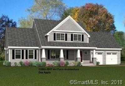 East Windsor Single Family Home For Sale: 67 Middle Road #Lot 20