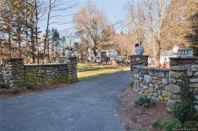 Simsbury Single Family Home For Sale: 222 Farms Village Road