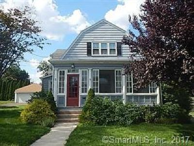 Wethersfield Single Family Home For Sale: 5 Morrison Avenue