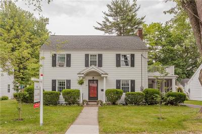 West Hartford Single Family Home For Sale: 84 Lemay Street