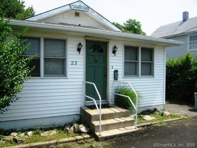 Milford CT Single Family Home For Sale: $217,000