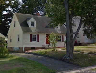Wethersfield Single Family Home For Sale: 62 Wells Road
