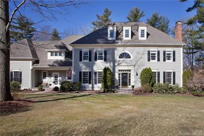 Simsbury Single Family Home For Sale: 18 School House Lane