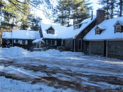 West Hartford Single Family Home For Sale: 28 White Pine Lane