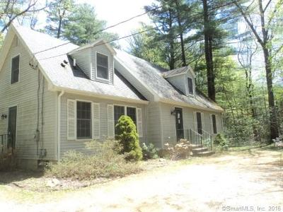 Woodstock Single Family Home For Sale: 725 Route 198