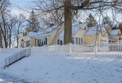 West Hartford Single Family Home For Sale: 525 Fern Street