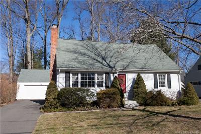 West Hartford Single Family Home For Sale: 32 John Smith Drive