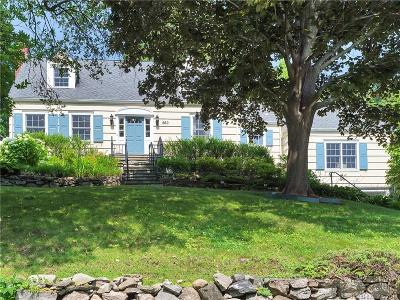 Stamford Single Family Home For Sale: 260 Sycamore Terrace