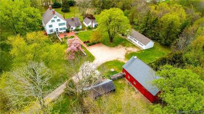 Coventry Single Family Home For Sale: 77 Ripley Hill Road