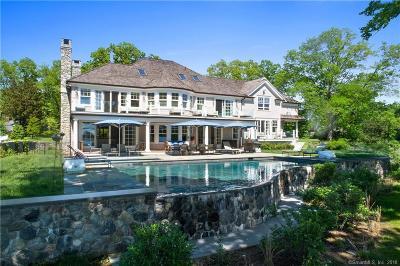 Darien Single Family Home For Sale: 10 Nickerson Lane