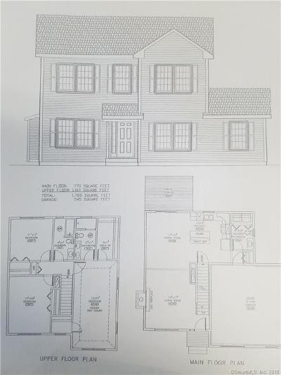 Hamden Single Family Home For Sale: Lot 8 Brooksvale Avenue