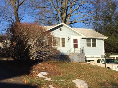 Meriden Single Family Home For Sale: 51 Retreat Avenue