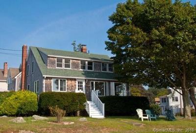 Groton Single Family Home For Sale: 89 Sound Breeze Avenue