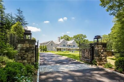 New Canaan Single Family Home For Sale: 56 Pequot Lane