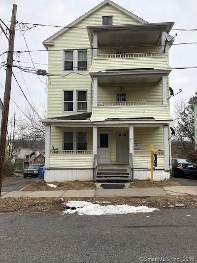 New Britain Multi Family Home For Sale: 27 Cliff Street