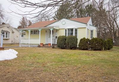Windsor CT Single Family Home For Sale: $139,900
